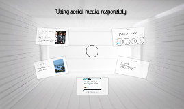 Using social media responsibly Yr7-8