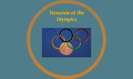 Terrorism at the Olympics