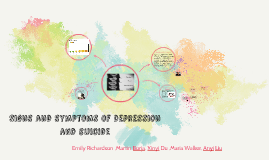 Copy of Signs and symptoms of depression and suicide