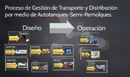 Proceso de Gestión de Transporte y Distribución por medio de Autotanques-Semi-Remolque