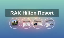 RAK Hilton Resort