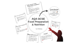 AQA Food Preparation & Nutrition Options Talk