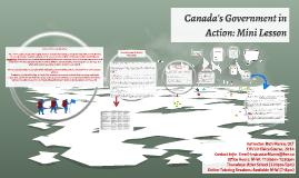 Canada's Government in Action: Mini Lesson