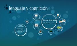 lenguaje y cognición