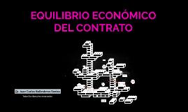 EQUILIBRIO ECONOMICO DEL CONTRATO