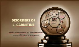 Copy of Déficit de L-Carnitina
