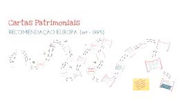 Copy of Cartas Patrimoniais