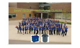 Copy of Recycling at Suzuki!