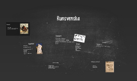 Runsvenska