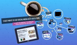 Using Social Media as a Sales Tool