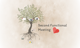 Second Functional Meeting