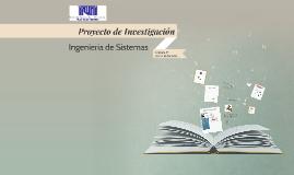 Copy of Copy of Proyecto de Investigación