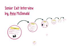 Senior Exit Interview