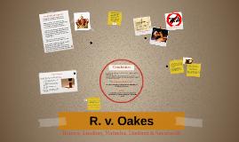 R. v. Oakes