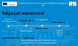 Felnőtt tanulás - Pályázati menetrend (2019-es pályázati kör)