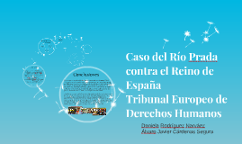 Caso del Rio Prada contra el Reino de España