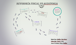 REVISORÍA FISCAL VS AUDITORIA