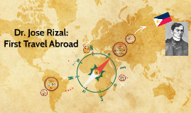 last trip of rizal to abroad