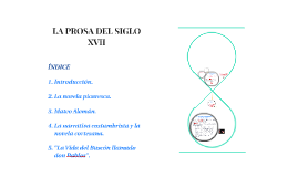 LA PROSA DEL SIGLO XVII