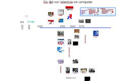 De tijd van televisie en computer