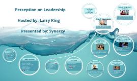 Perception on Leadership