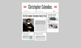 Christopher Collumbus