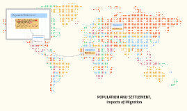 The Impacts  of migration (with  answers)