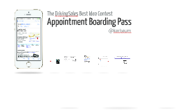 Appointment Boarding Pass