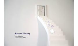 Prep Resume Writing