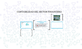 CONTABILIDAD DEL SECTOR FINANCIERO