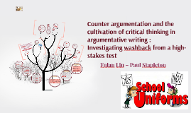 Counterargumentation and the
