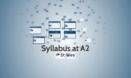 Syllabus at A2