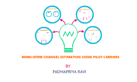 mimo ofdm channel estimation