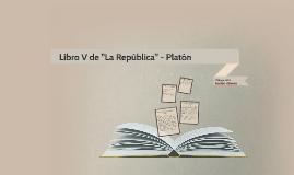 """Libro V de """"La República"""" - Platón"""