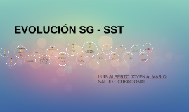 EVOLUCION SG - SST