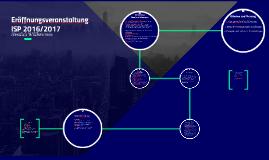 Eröffnungsveranstaltung ISP 2016/2017
