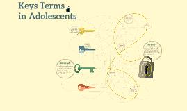 Keys to Understanding the developing adolescent