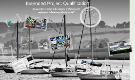 Extended Project Qualification: photography
