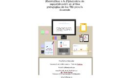 Diplomatura de Uso pedagógico de las TIC