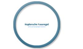 Keplersche Fassregel