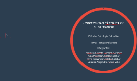 UNIVERSIDAD CÁTOLICA DE EL SALVADOR