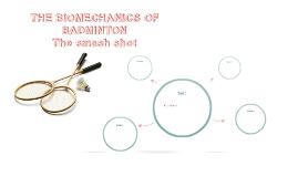 THE BIOMECHANICS OF BADMINTON