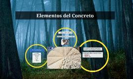 Elementos del Concreto