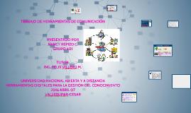 TRABAJO DE HERRAMIENTAS DE COMUNICACIÓN