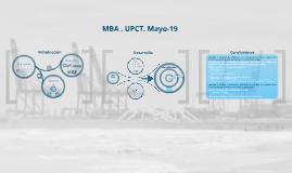 Sesión 15 Mayo. MBA. UPCT.
