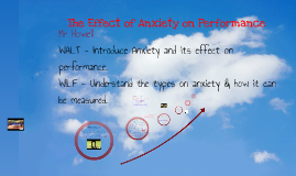 Copy of The Effect of Anxiety on Performance