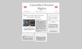 Canadian Human Rights