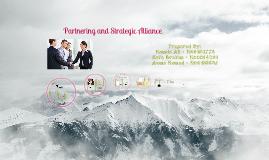 Partnering & Strategic Alliance