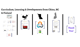 Curriculum, Learning & Developments from All Over the World