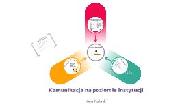 Copy of Komunikacja na poziomie instytucji